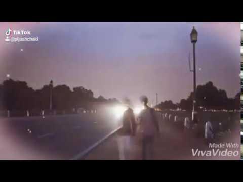 Time-lapse Of Rajpath, Delhi India.