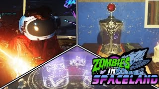 TOP 3 UNFOUND EASTER EGGS - ZOMBIES IN SPACELAND! (Infinite Warfare Zombies)