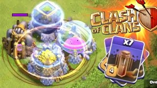 Clash of Clans - EPIC EARTHQUAKE SPELL! NEW DARK ELIXIR SPELL GAMEPLAY! UPDATE 2015 CLASH OF CLANS!