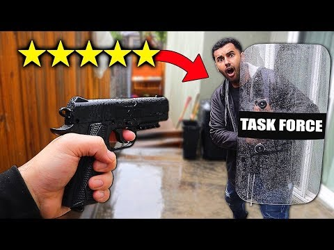 I Bought The BEST Rated BULLET PROOF Shield On WISH!! (5 STAR)