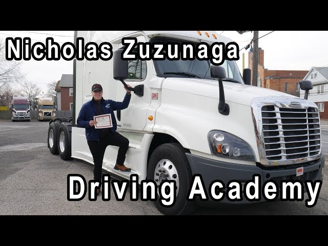 Nick gets his CDL to Provide for his Family - Driving Academy Student Testimonial