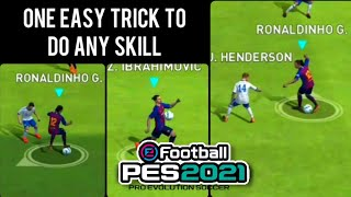 One Easy TRICK to do any SKILL in PES 19 Mobile
