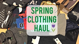 spring clothing haul 2017