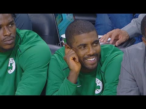Kyrie Irving 1st Celtics Game With Gordon Hayward  2017 NBA Preseason