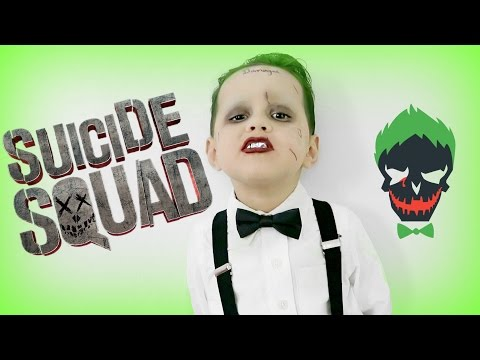Joker Suicide Squad Makeup and Costume 2019