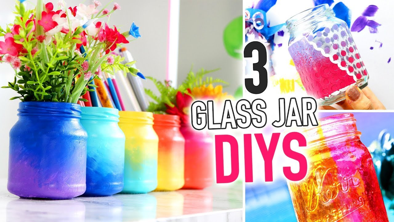 3 Diy Ways To Transform Glass Jars Hgtv Handmade