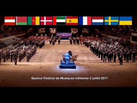 Saumur Festival Musique militaires 2 juillet 2017