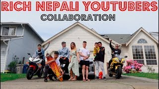 Rich Nepali YouTubers In America | Super Bikes And Cars | Sega Gurung