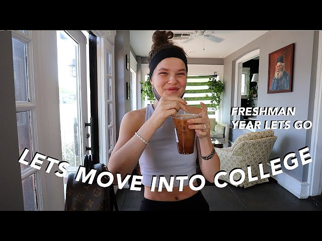MOVE WITH ME INTO COLLEGE (part one!!)