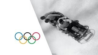 Classic Bobsleigh Action - Lake Placid 1932 Winter Olympics