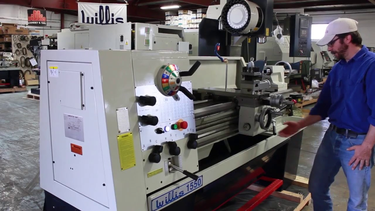 Conventional / Manual Metalworking Lathe   Geared Head