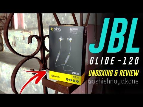 Infinity (JBL) Glide 120 Metal in-Ear Wireless Flex Neckband with Bluetooth 5.0 and IPX5 Sweatproof