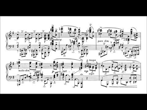 Leopold Godowsky - Piano Sonata (audio + sheet music)