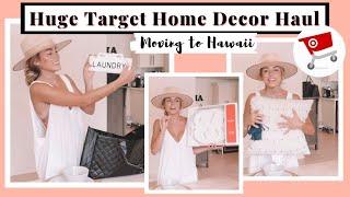 Huge Target Home Decor Haul | Moving To Hawaii