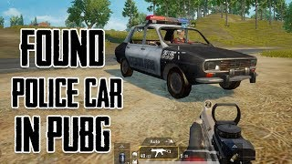 Working Police Car In Pubg 0.8