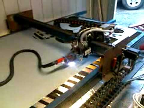 Cnc Plasma Cutting With Diy Machine And Diy Plasma Youtube