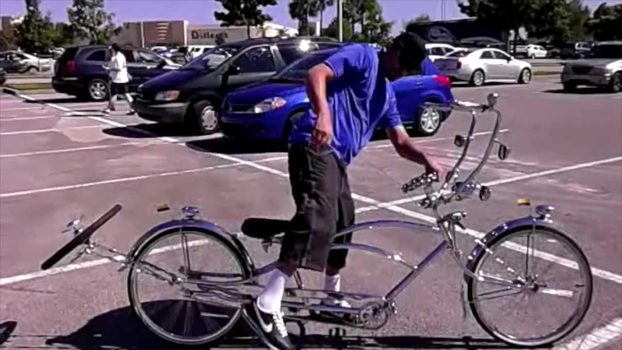 Stretch Lowrider Bike Youtube