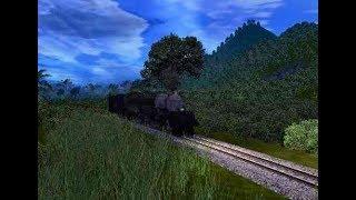 Cara Membuat Tanjakan Bertanah Rata - Trainz Simulator Tutorial