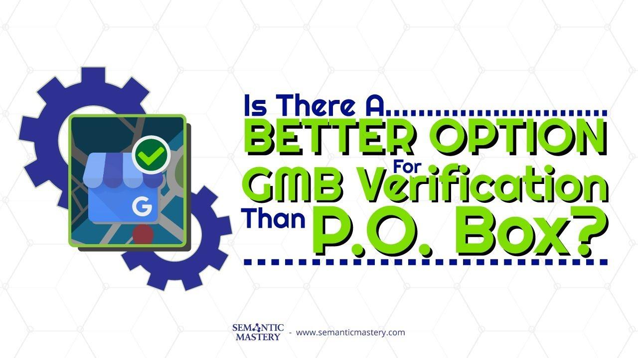 Gmb Verification   Semantic Mastery