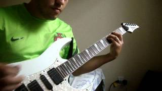 The Angel And The Gambler - Iron Maiden Guitar Cover With Solos