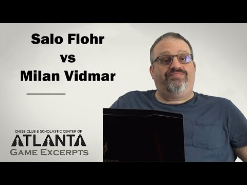Flohr vs Vidmar (1924) || Game Excerpts with GM Ben Finegold