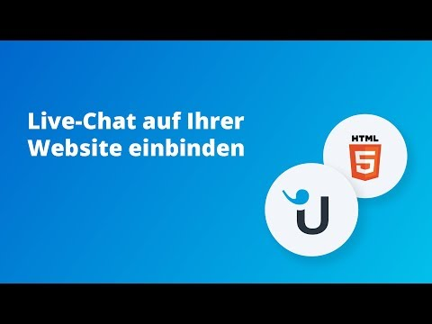 Wie Sie Live-Chat Auf Ihrer Website Einbinden: HTML