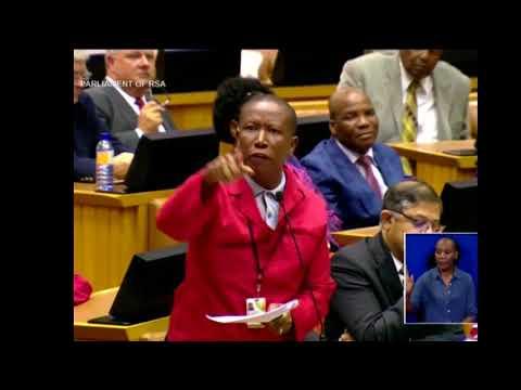 Julius Malema demands Ramaphosa answer his question on Zuma's legal fees