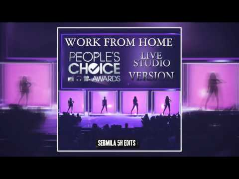 Fifth Harmony - Work from Home (PCA's Live-Studio Version)
