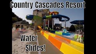 Country Cascades Resort Water Slides