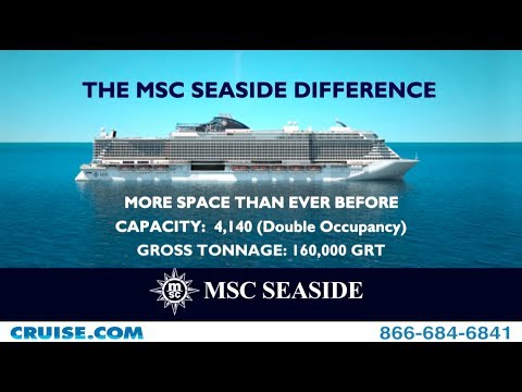 Introducing MSC Seaside