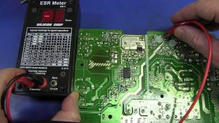 EEVblog #365 - ESR Meter Bad Cap Monitor Repair