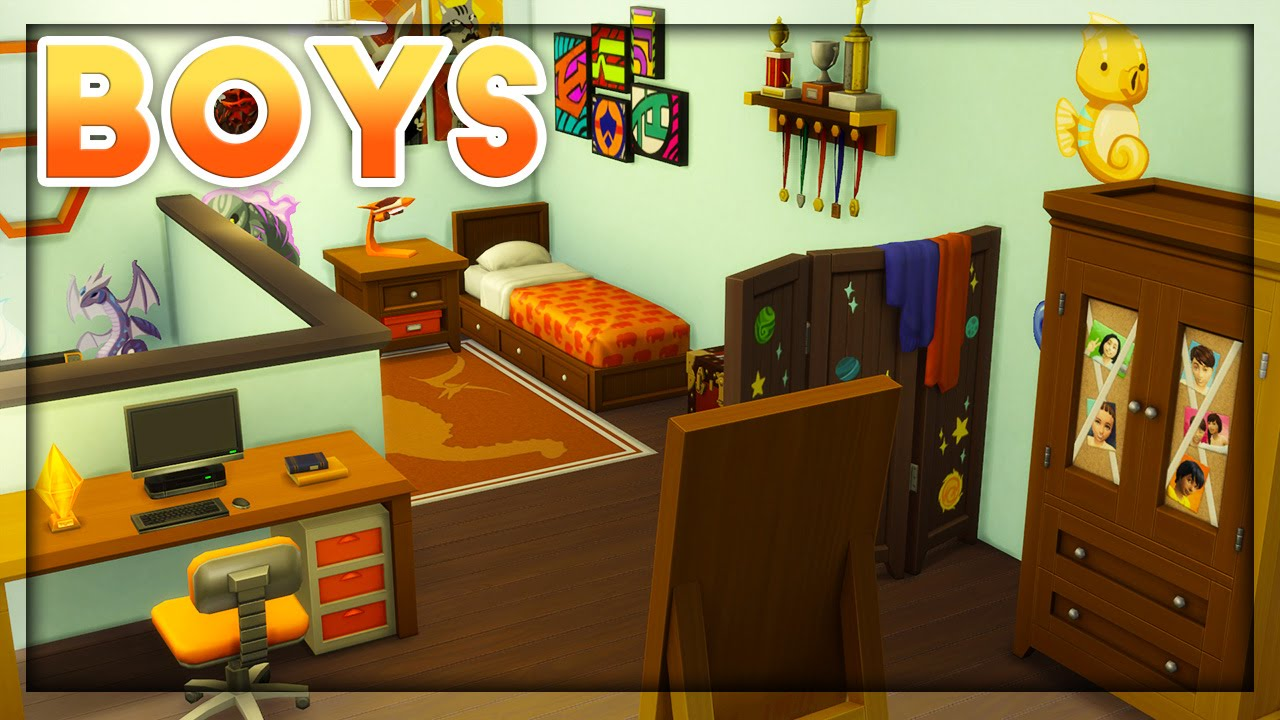 The sims 4 room build kids room stuff boys room - Stuff for your room ...
