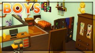 The Sims 4 | Room Build | Kids Room Stuff // Boys Room