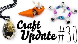 [Fimo Inspirationen] Craft Update #30: Lang lang ist