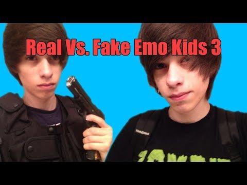 Real vs Fake Emo Kids 3