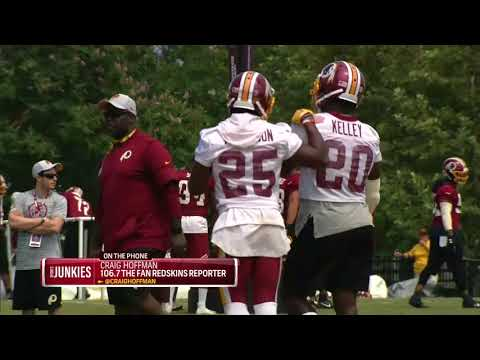 Hoffman: Rob Kelley still the Redskins' starting RB
