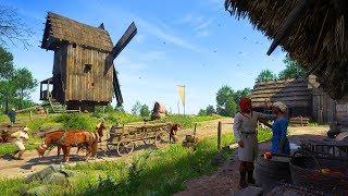 Kingdom Come Deliverance - самое реалистичное RPG про средневековье! НА УЛЬТРАХ часть 1