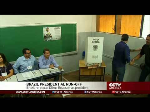 Dilma Rousseff re-elected president of Brazil