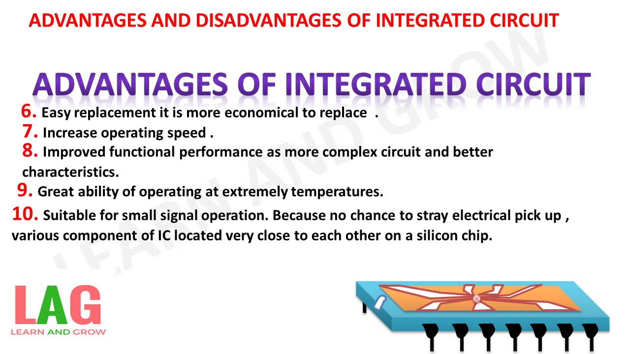 Advantages And Disadvantages Of Integrated Circuit What Is An 7