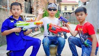 Đồ Chơi Bắn Súng Nerf - Cuộc Chiến Dành Kẹo Hubba Bubba - Bo Gaming TV