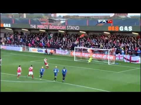 Fleetwood Town 1-1 Walsall - The FA Cup 1st Round - 06/11/10