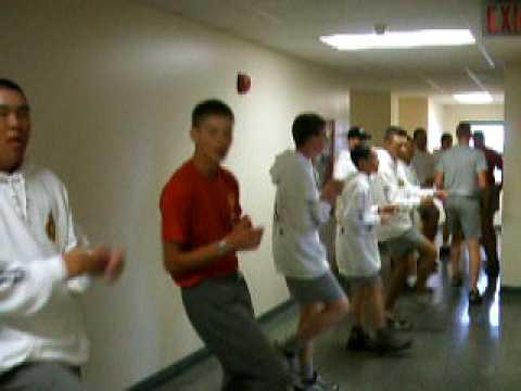 'SLC Shuffle' Senior Leaders 2007 Cold Lake AB (no sound)