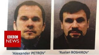The trail taken by the Russian 'agents' - BBC News