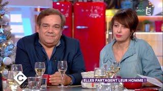 Isabelle Carré, Didier Bourdon et Valérie Bonneton au dîner - C à Vous - 13/12/2017