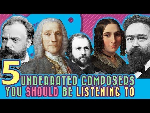 5 Underrated Composers You Should Be Listening To