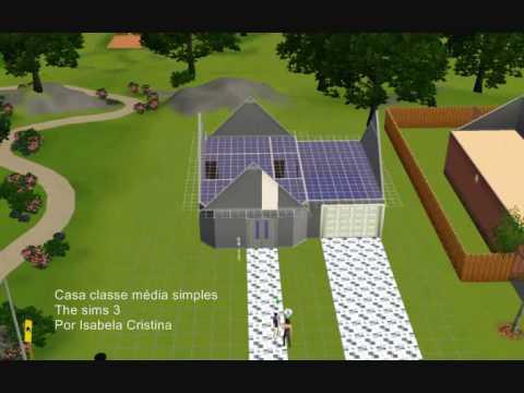 The sims 3 constru o de casa simples sofisticada youtube - Casas bonitas sims 3 ...