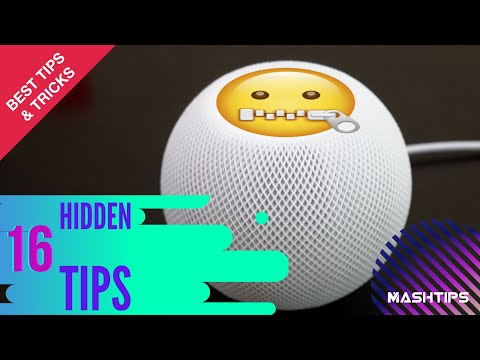 16 Hidden features for HomePod mini users to try. (Quick Silence, Ambient Sound, and more!)