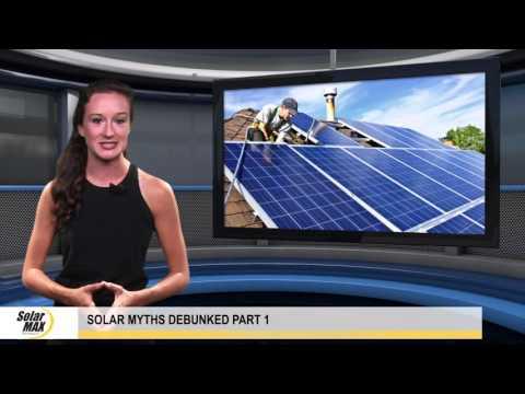 Solar Myths Debunked Part 1 – Do Solar Panels Work on Cloudy Days?