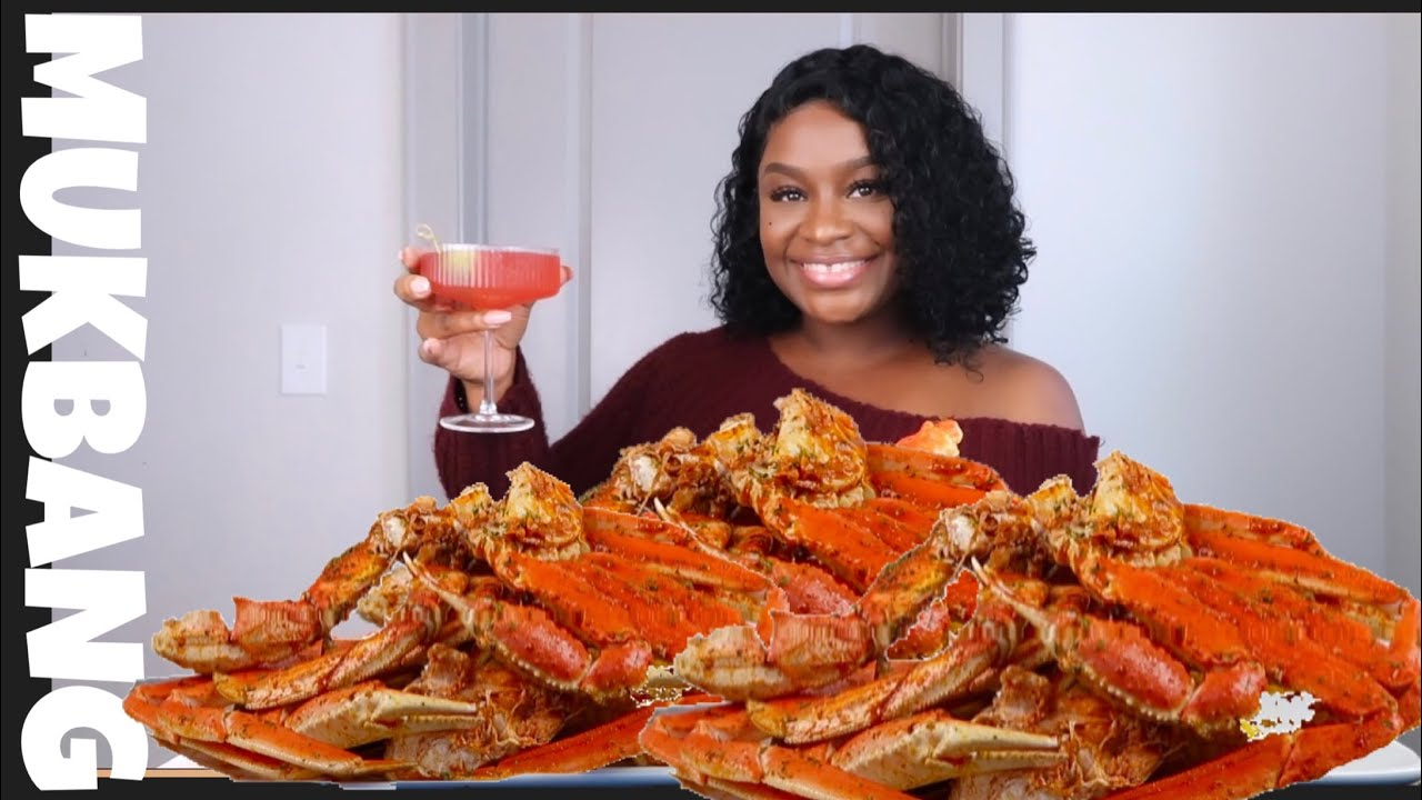 SPICY GIANT CRAB LEGS + SEAFOOD BOIL MUKBANG | STORYTIME
