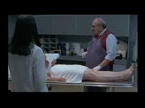 Embalming scene from